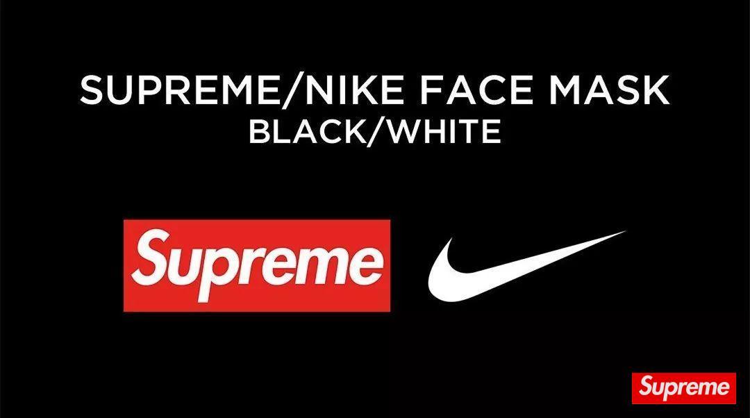 Supreme x Nike 发布 Facemask 联名口罩