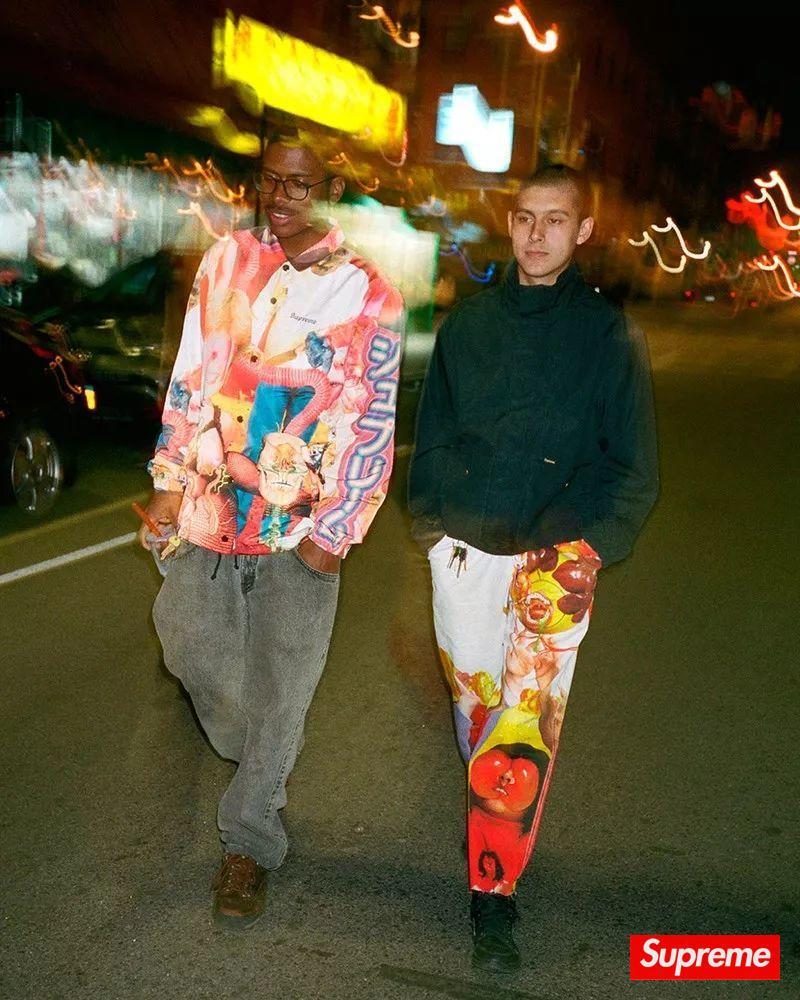 Supreme x 怪诞艺术家全新联名系列