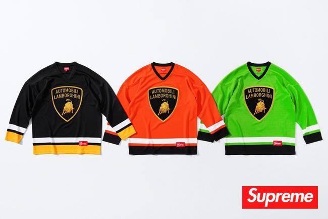 兰博基尼联名Supreme 单品系列发售