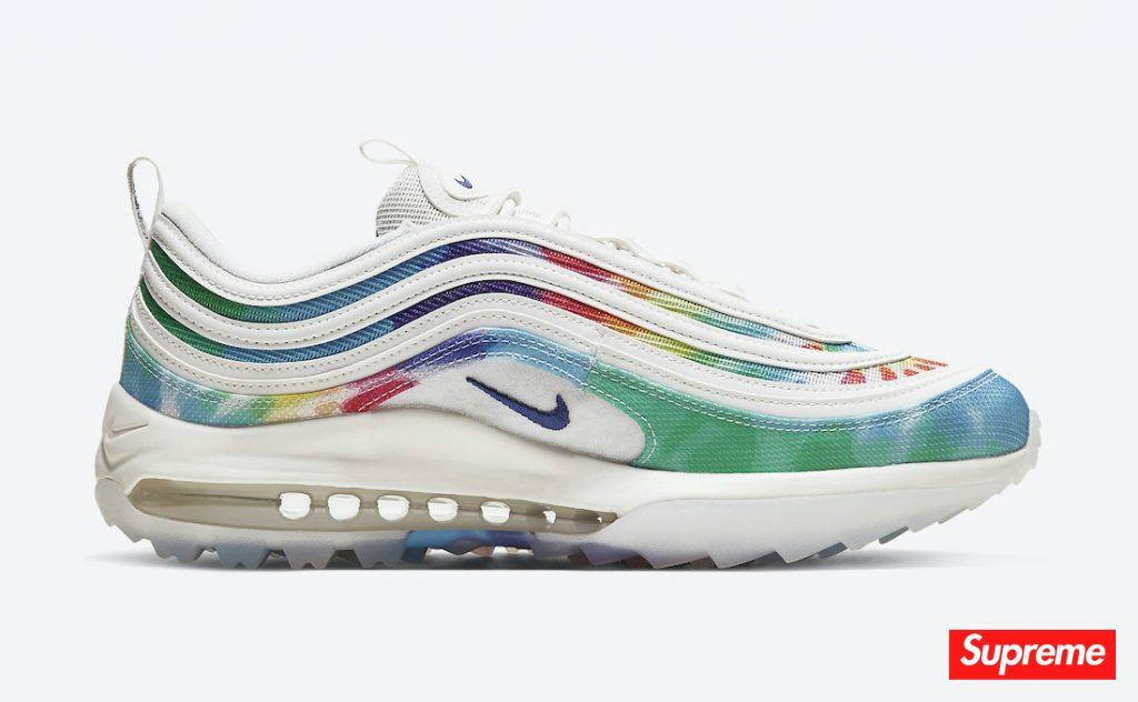 "Nike Air Max 97 Golf ""Tie Dye"" 货号:CK1219-100"