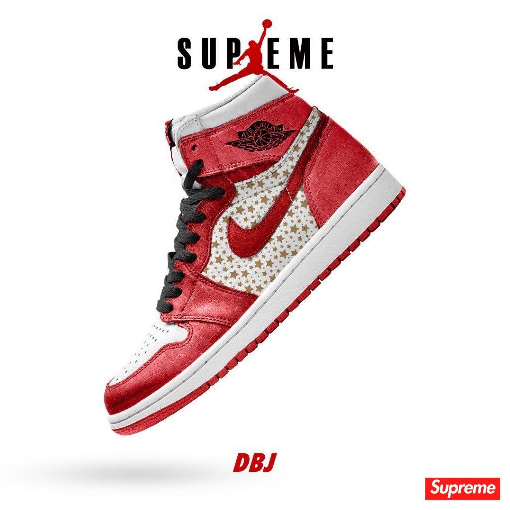 Supreme 终于要跟 AJ1 联名了!