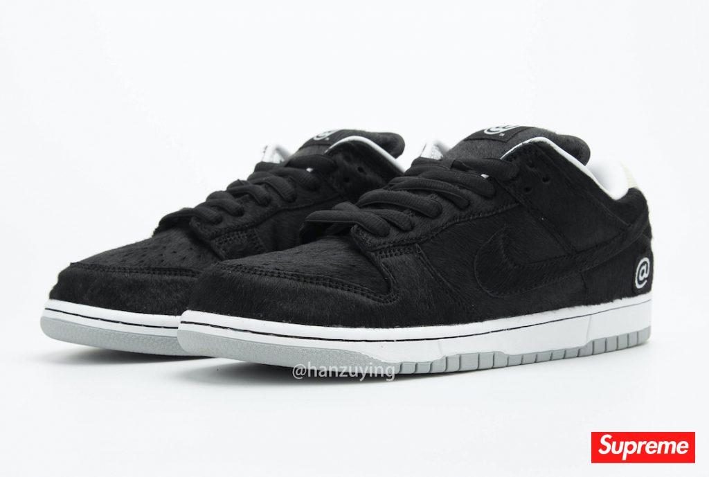 "Medicom Toy x Nike SB Dunk Low ""BE@RBRICK"" 货号:CZ5127-001"