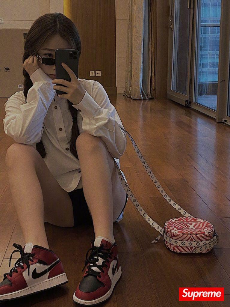 球鞋女神杨幂、江疏影
