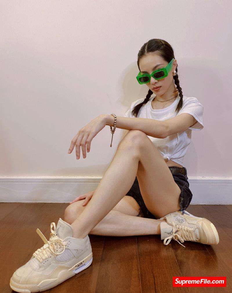 女明星球鞋上脚 202008