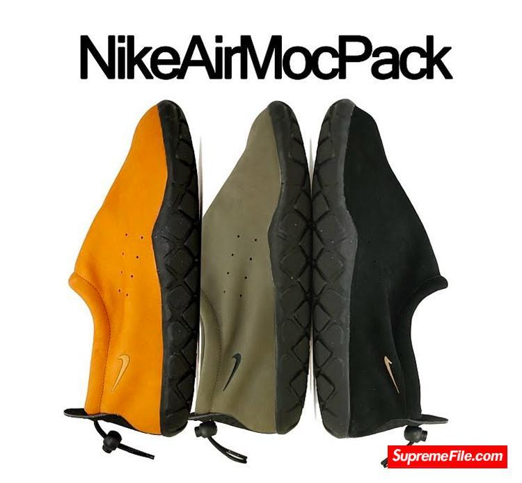以户外运动后的足部放松为目的,诞生于 1994 年的 Nike ACG Moc 迎来 3.0 版本