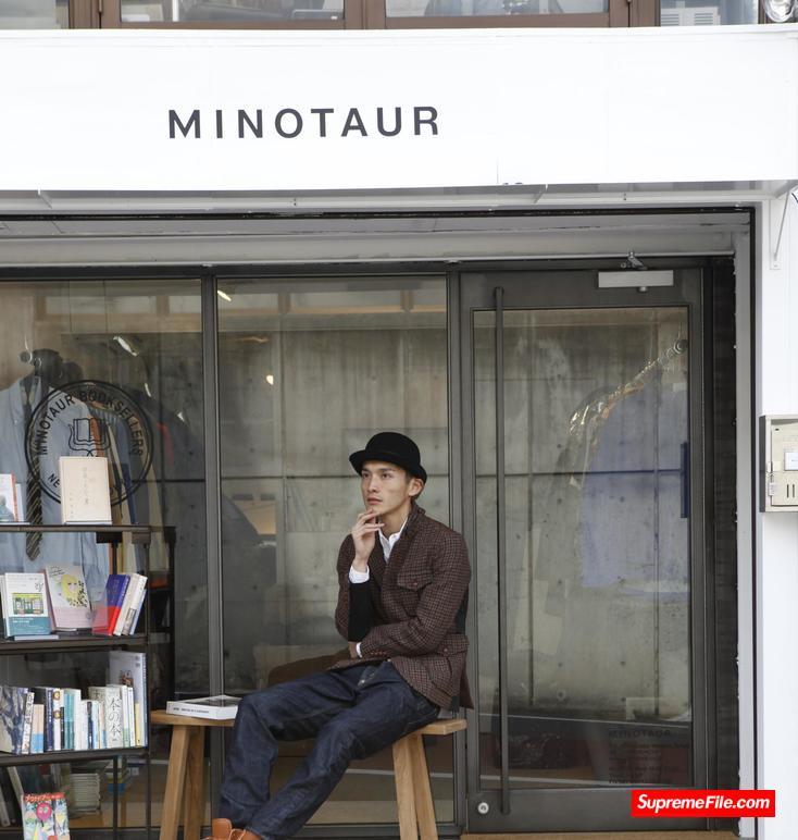 MINOTAUR,日本潮流品牌 Minotaur 以运用各类织料设计创作而闻名。
