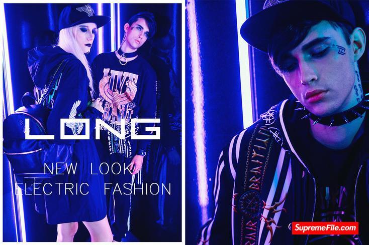 LongClothing,于2008年创立于英国伦敦,创始人为音乐人及英伦电子乐的领军人物