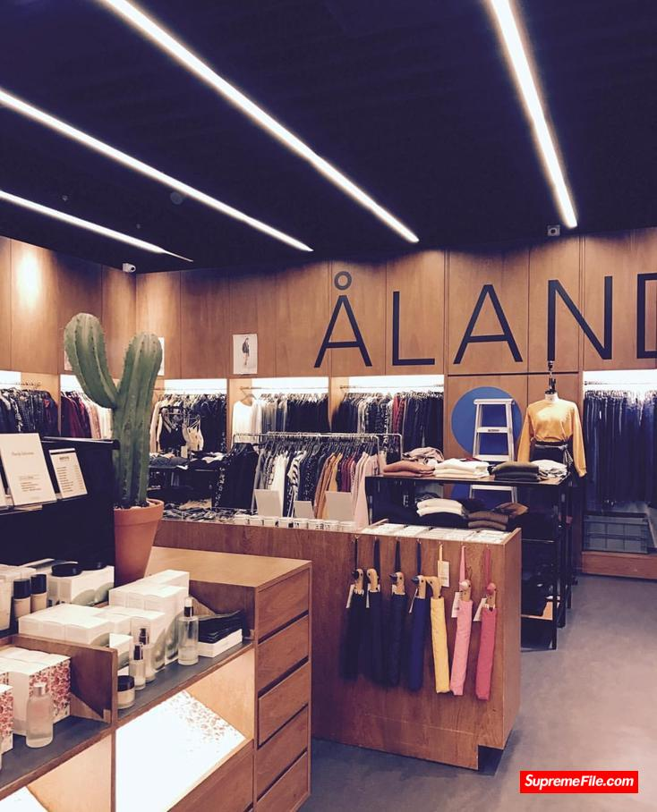 ÅLAND,首尔八大潮店之一