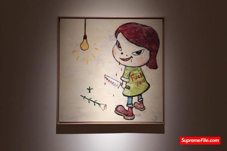 Yoshitomo Nara,日本著名现代艺术家奈良美智