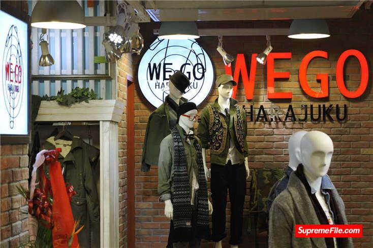 WEGO,日本快时尚品牌,是年轻人喜欢的派对着装