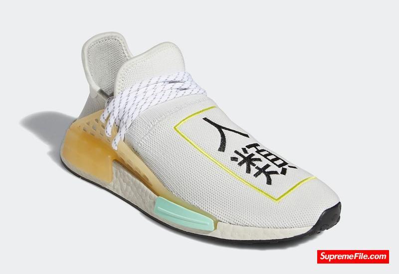 菲董 Pharrell x adidas NMD Hu 货号:Q46467