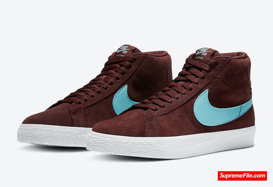 Nike SB Blazer Mid 货号:864349-600