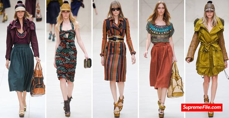 Burberry,全球顶级奢侈品牌,英式时尚风格翘楚