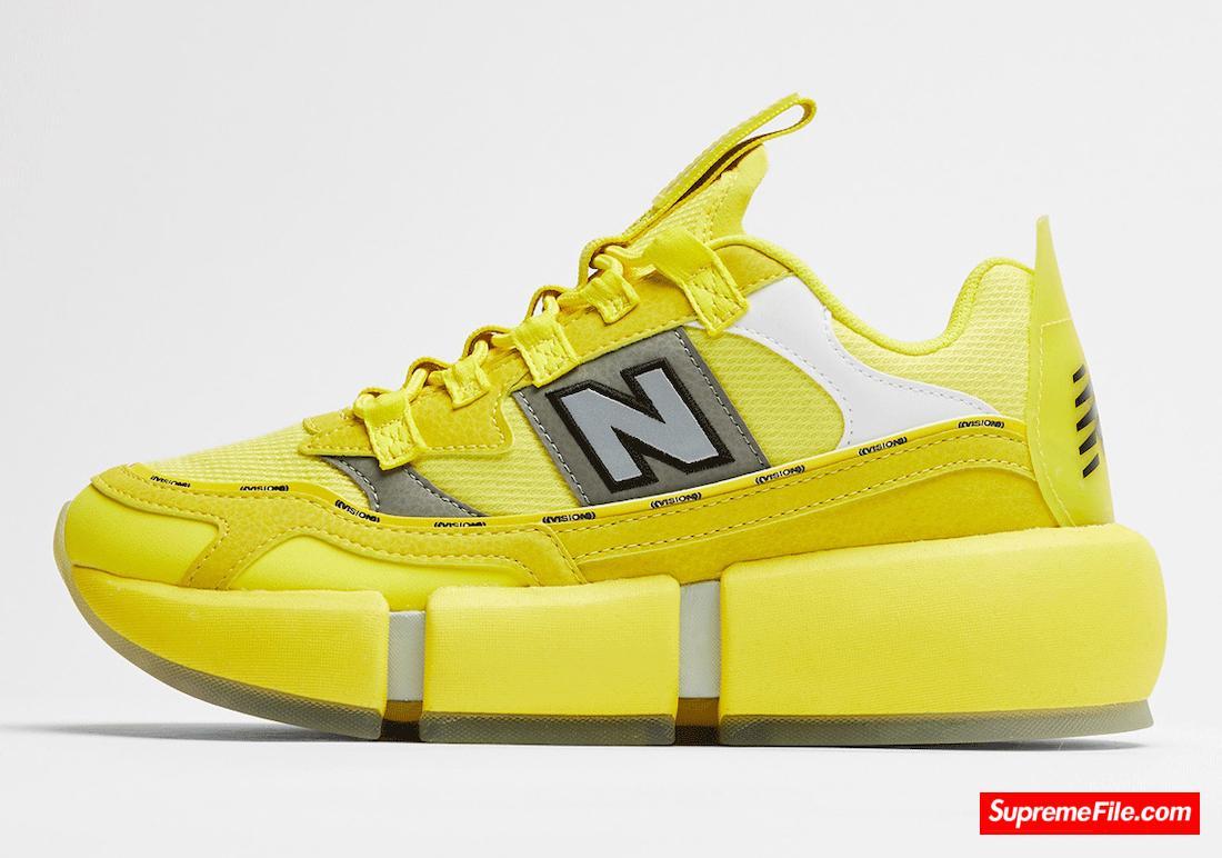 """贾登·史密斯代言新百伦 New Balance 全新柠檬黄配色 """"Sunflower Yellow"""""""