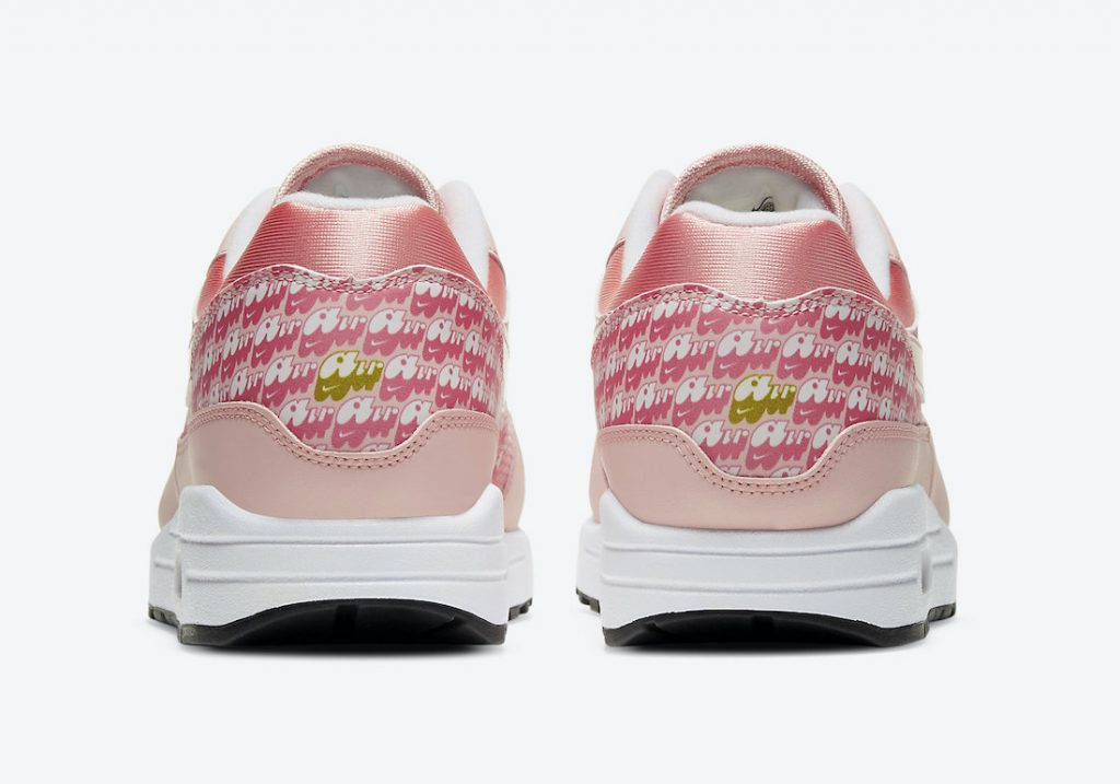 """闪光草莓 Nike Air Max 1 """"Strawberry Lemonade"""" 货号:CJ0609-600"""