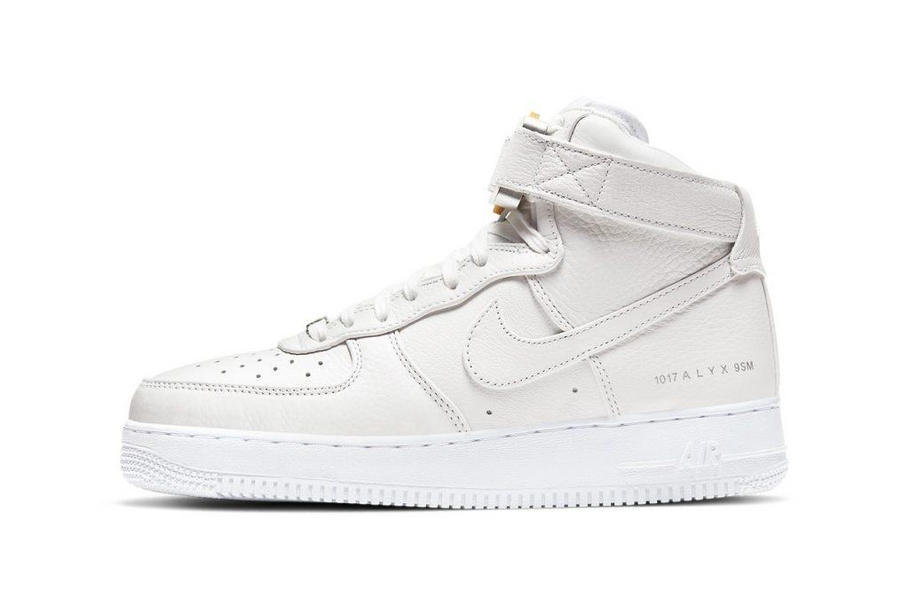 纯白耐克空军一号联名 1017 ALYX 9SM x Nike Air Force 1