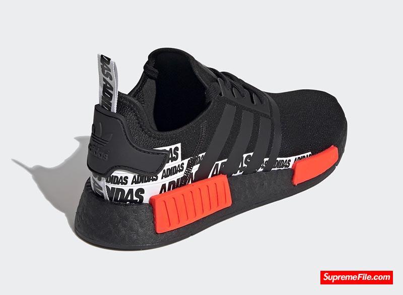 adidas NMD R1 货号:FX6794(黑)/FX6795(白)