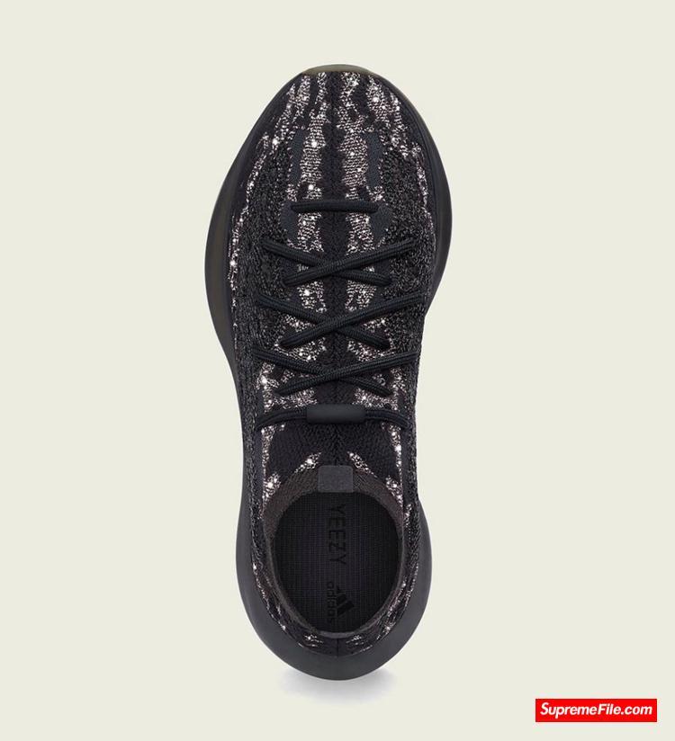 "Yeezy 380 黑武士满天星 adidas Yeezy Boost 380 ""Onyx Reflective"" 货号:H02536"