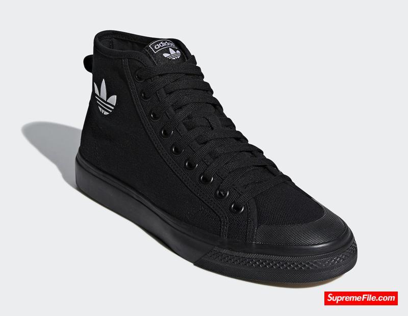 暗黑武士 adidas Nizza Hi 货号:B41651
