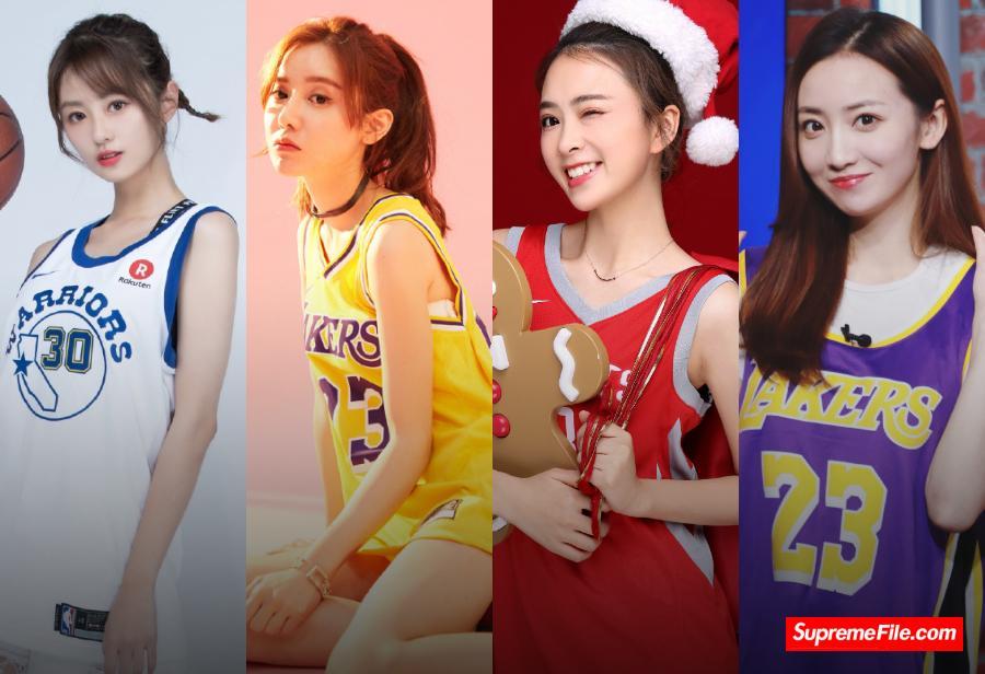 这些 NBA 女主播各个都是球鞋女神