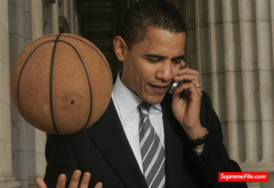 奥巴马专属 Nike Hyperdunk 08