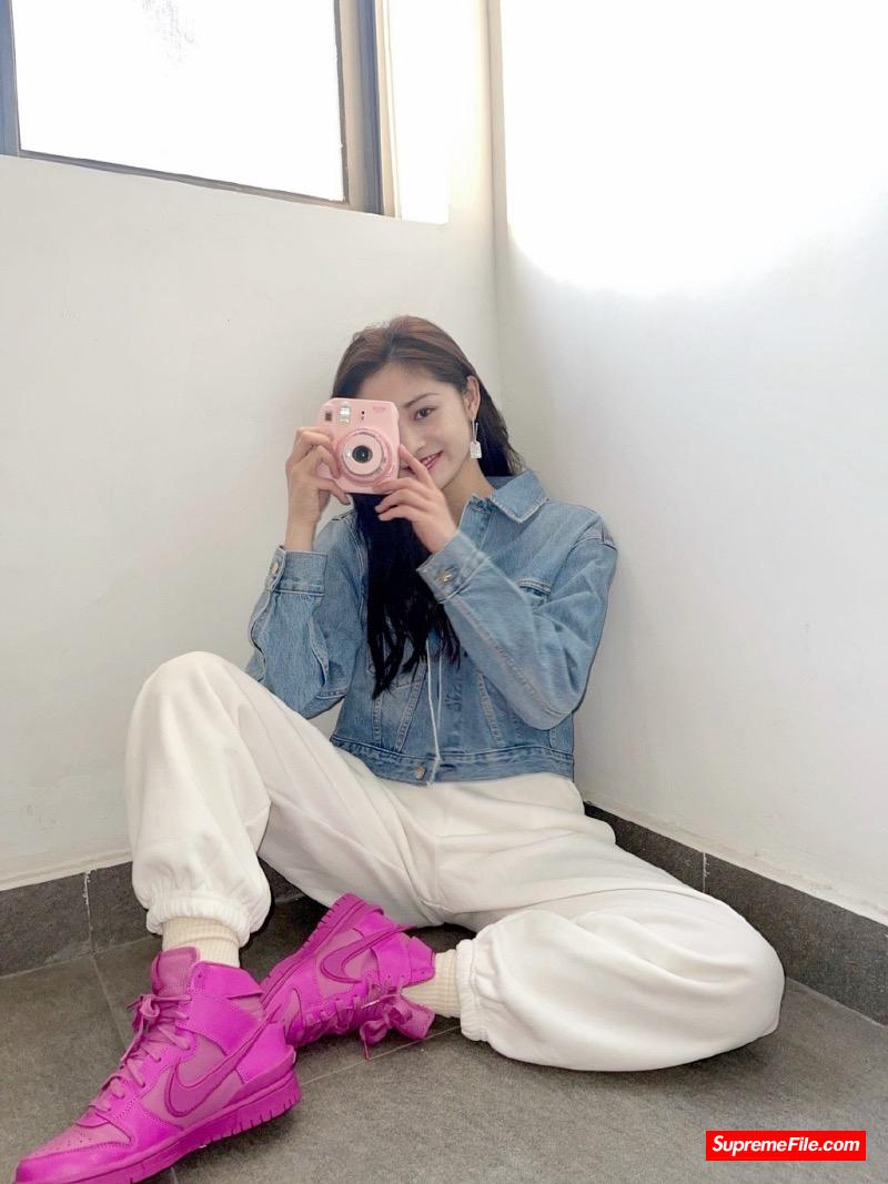 周洁琼、VAVA、周雨彤等球鞋女神的球鞋上脚
