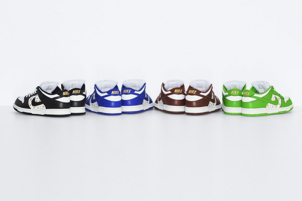 Supreme 官方正式发布 Supreme x Nike SB Dunk Low 系列
