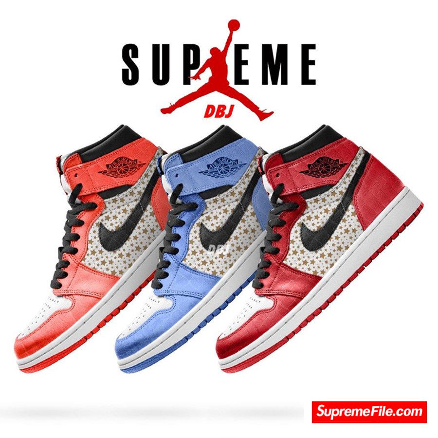 Supreme 今年还有 AJ1!